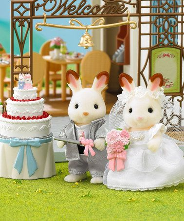 Take a look at this Limited-Edition Wedding Day Set by Calico Critter on #zulily today!