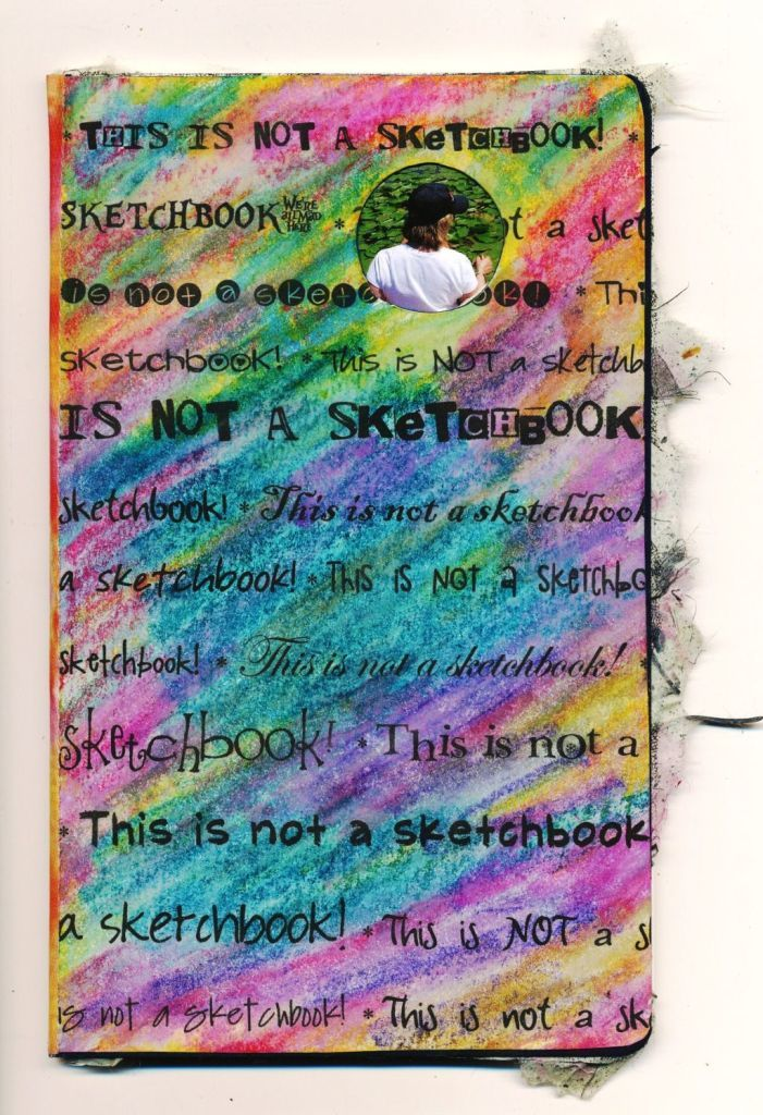 Sketchbook Cover Collage : Images about sketchbook covers on pinterest