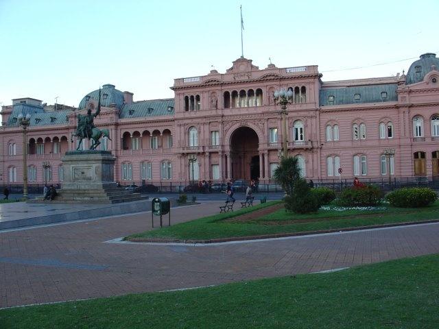 Buenos Aires, Argentina - Casa Rosada (made famous in Evita)