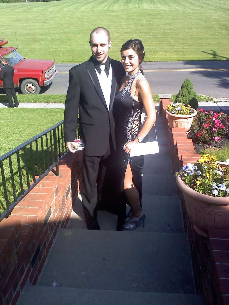 Amy Cabrera shares this picture of her niece Amanda Bancroft and her boyfriend Aaron Fisher before Boyertown's prom.