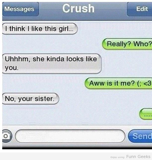 No, your sister Funny Pictures, Text Images, Funny text Images, Funny Images, Epic Fails, Funny Planet, iPhone… http://ibeebz.com