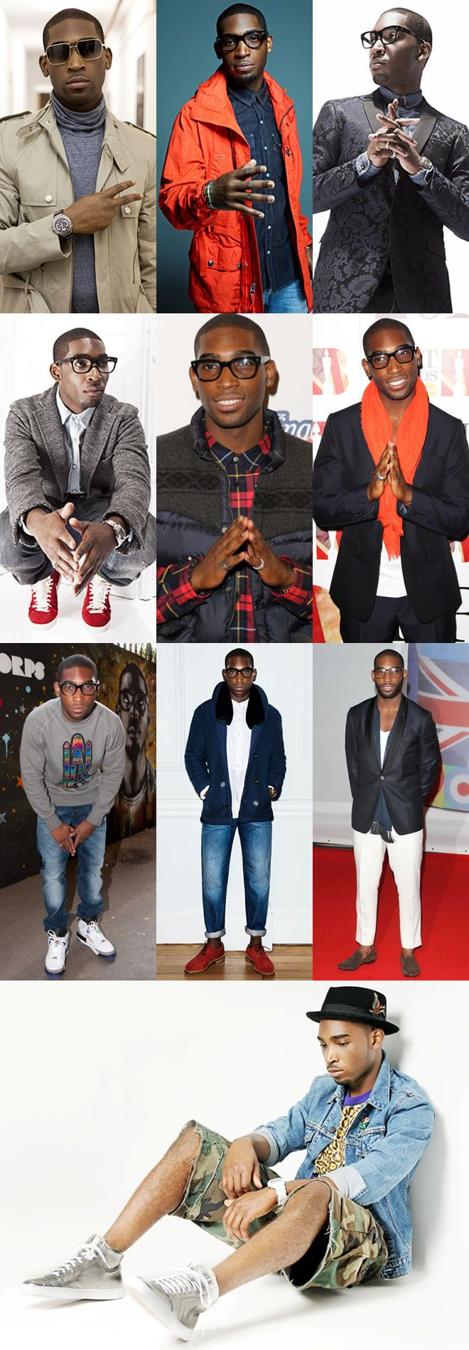 Mens Style Icon: Tinie Tempah can do no wrong in the style dept.