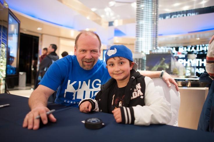 #KingBlue Condos #Toronto #WendelClark #TorontoMapleLeafs #KingWest