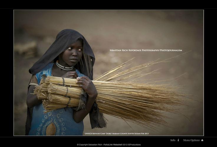 "South Sudan | ""SOUTH SUDAN REFUGEE (UNHCR)"" by Sebastian Rich"