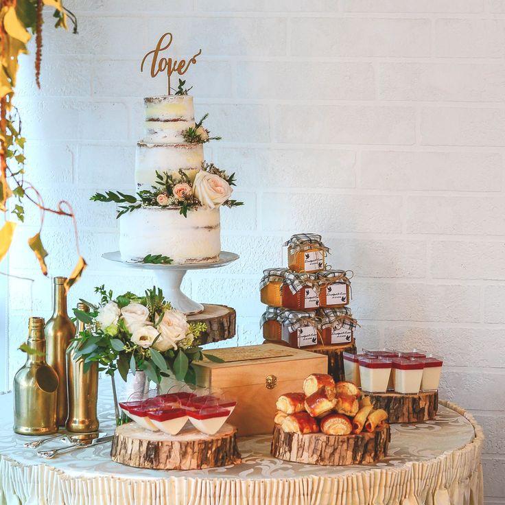 Candy bar Рустикальная свадьба