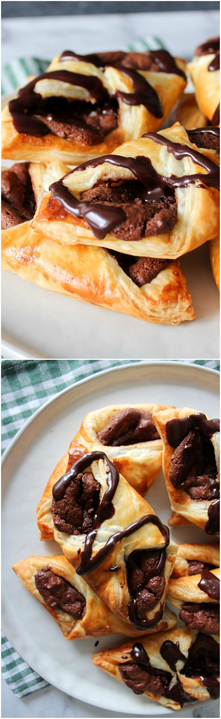 Chocolate cheese danish with a twist. A delicious puff pastry cake that everyone will like! Wonderful and easy dessert,