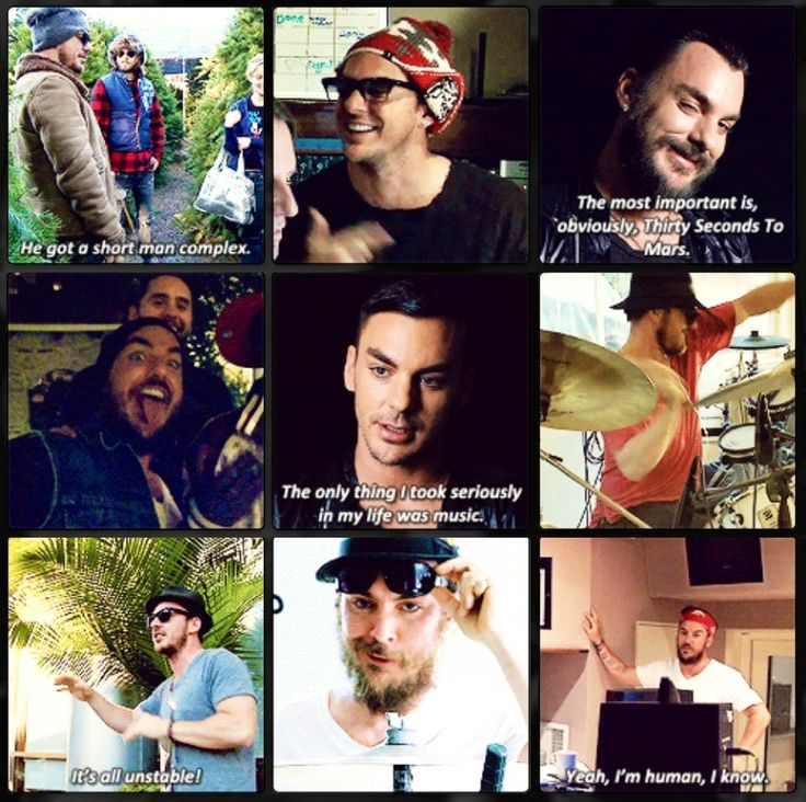 """Shannon Leto, luv the top left when Jared says Shan has a """"Short Man Complex!!!"""" ❤We luv u Shan!!!❤"""