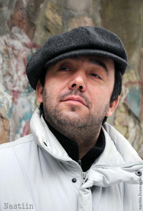 Купить Мужская темно-серая кепка-хулиганка - головные уборы для мужчин, серая кепка-хулиганка