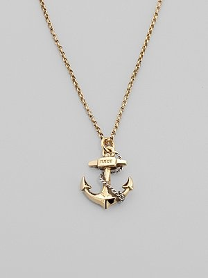 Juicy Couture Anchor Wish Necklace