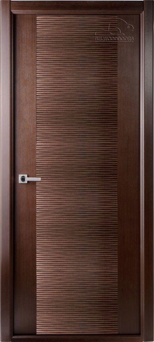 Межкомнатная дверь Авангард, белорусская дверь, дверь цвета венге.