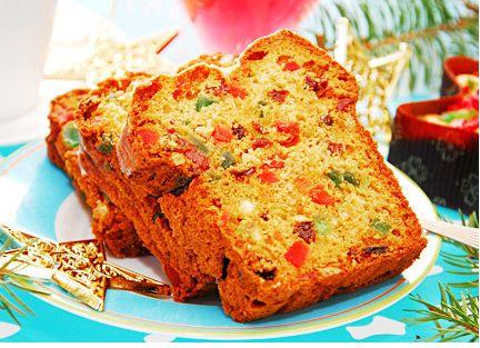 Resep Kue Natal Cake Ceri dan Sukade