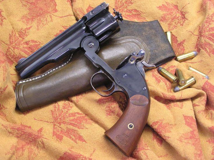 Uberti Schofield top break revolver