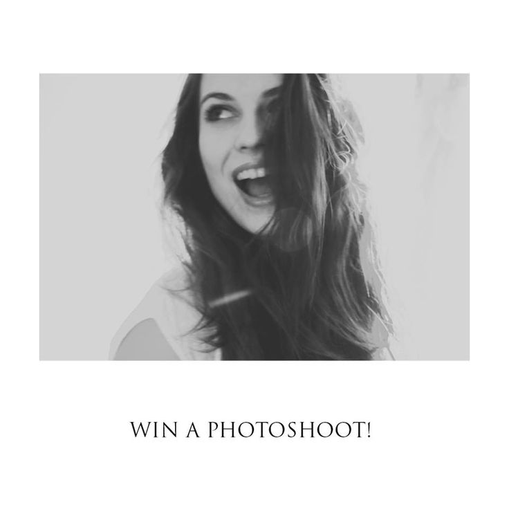Want to win a photoshoot? Go to my Facebook page! www.facebook.com/Hewnly  Good luck!