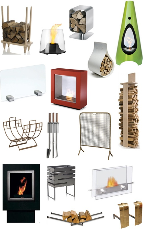 24 Modern Fireplaces and Accessories! stop by www.villageflame.com to see what ones we can offer!