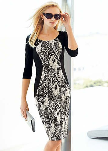 Round Neck Secret Support Dress