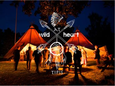 Welcome to Wild at Heart Tipis. Find us on the inter web www.wildathearttipis.co.uk