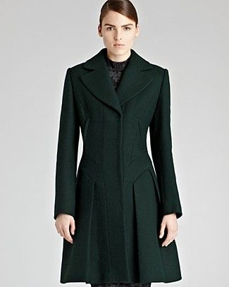 true fit coat | REISS Coat - Leo Fit and Flare | Bloomingdale's