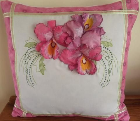 Orchid Dreams cushion