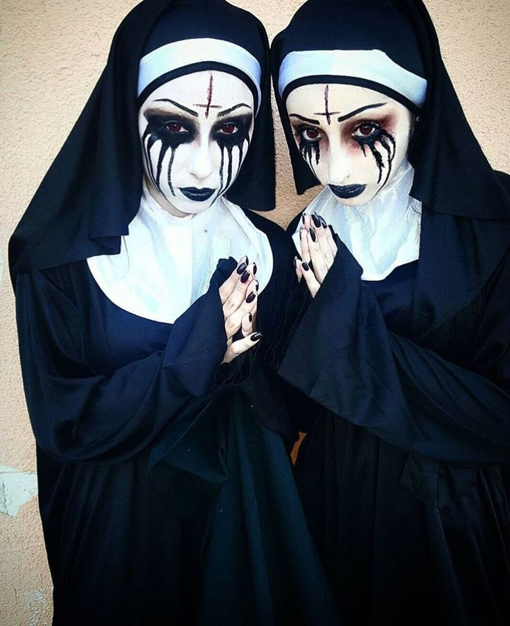 Possessed nun