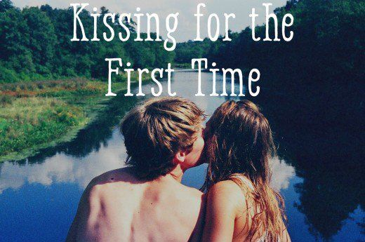 How to kiss for the first time and why you shouldn't be nervous.