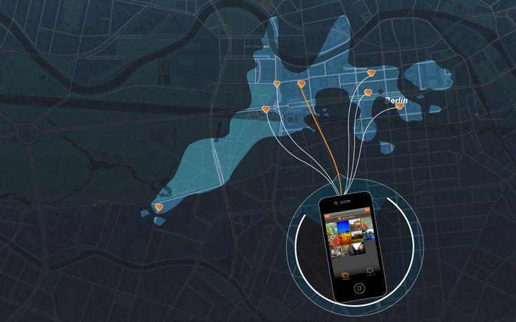 Screenshot of the application. LiquiData - www.liquidata.org | Designer: Gunnar Friedrich #multi #touch #ux #ui