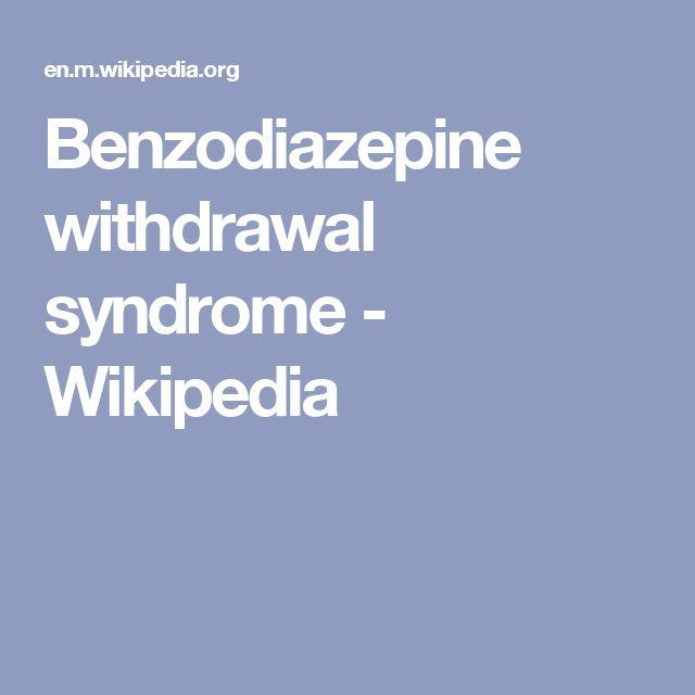 gabapentin benzodiazepine withdrawal