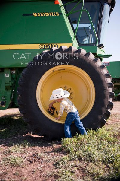 Boy On Tractor : Ideas about little boy poses on pinterest