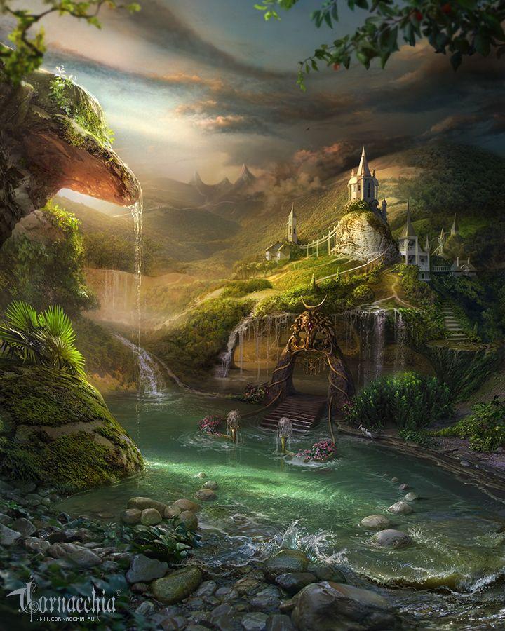 Красивые картинки с природой или фэнтези