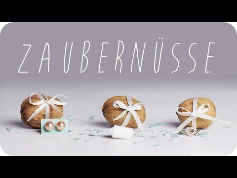 DIY | Zaubernüsse selber machen | Geburtstagsüberraschung | Geschenkideen | Geschenke | chestnut! - YouTube