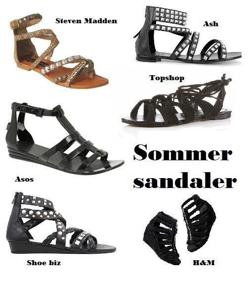 Sommer sandaler