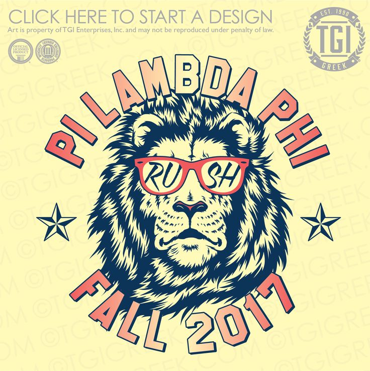 Pi Lambda Phi | ΠΛΦ | Fall Rush  | Fraternity Rush | Rush Shirt | TGI Greek | Greek Apparel | Custom Apparel | Fraternity Tee Shirts | Fraternity T-shirts | Custom T-Shirts