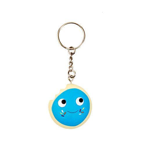 YUMMY WORLD Keychain Cookie W/Lt. Blue Frosting – Kidrobot