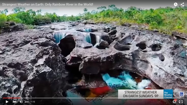 This Is The Only Rainbow River in the World! Beautiful Drone Shots Here.