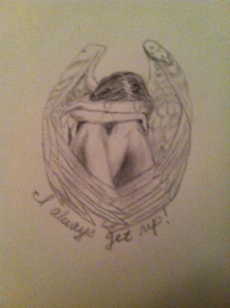 Crying Angel Tattoo PRINT main Pinterest Angels