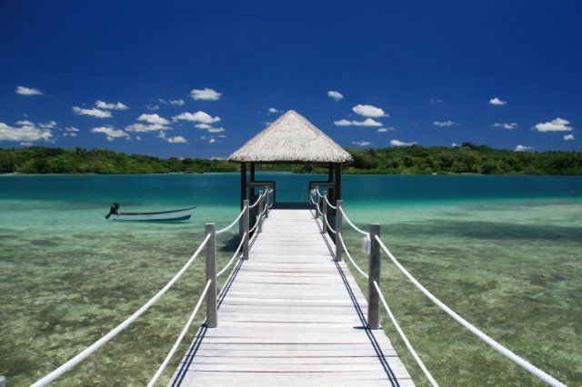 Gorgeous, gorgeous, gorgeous! The Eratap Beach Resort in Vanuatu via BeautifulPacific.com