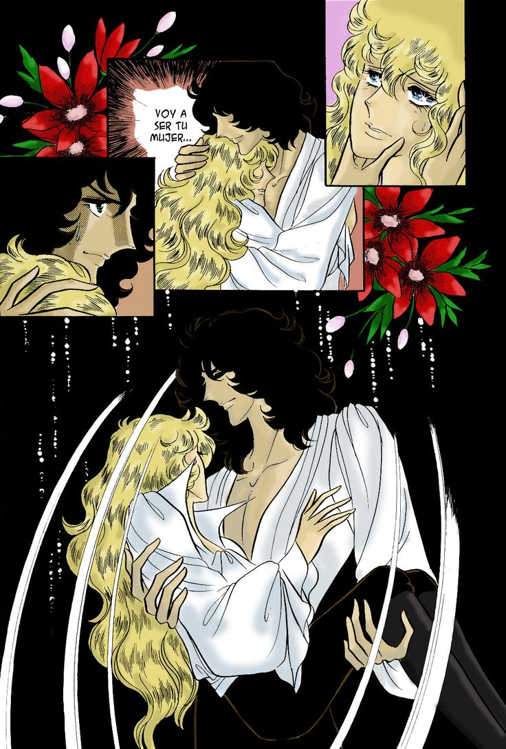 Lady Oscar - Rose of Versailles manga colour
