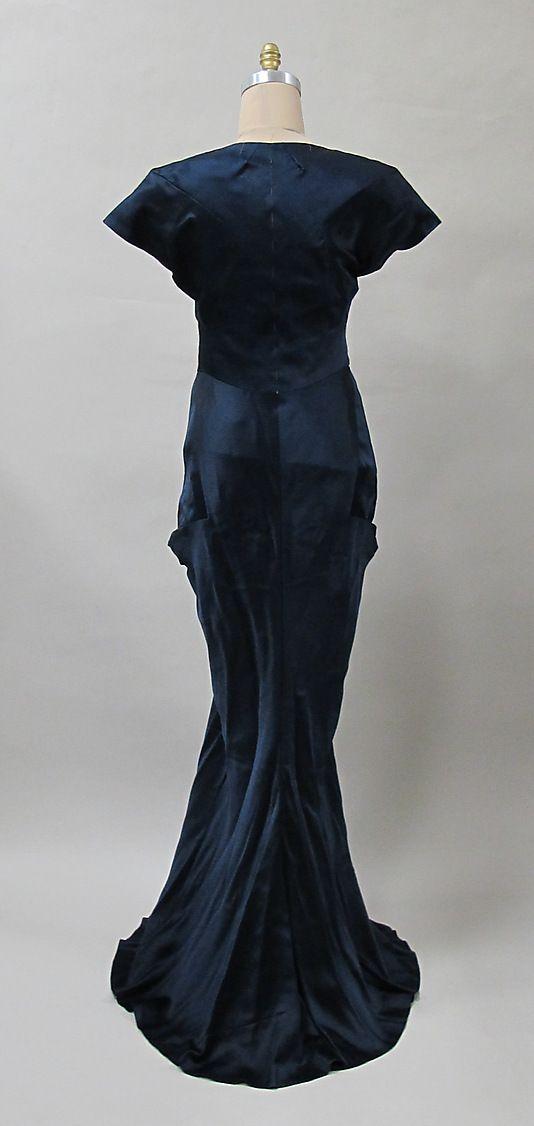 Evening dress Charles James (American, born Great Britain, 1906–1978) Date: ca. 1940 Culture: American
