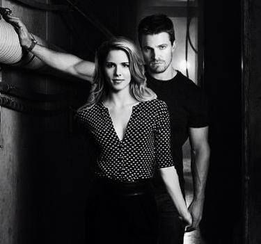 Felicity and Oliver #Arrow Love them as besties (pretty much), but I'm sure I'll want them to be together soon.