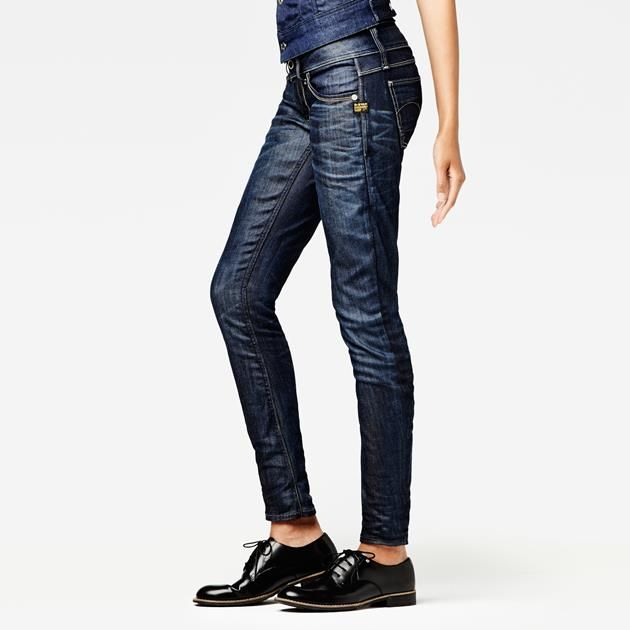 G-Star RAW - Lynn Skinny Wmn - Women - Jeans Love the look of these jeans!