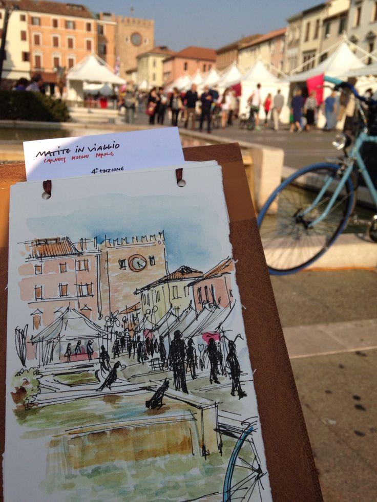 MIV in piazza Ferretto a Mestre