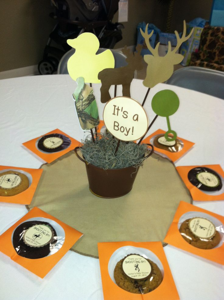 Camouflage baby shower