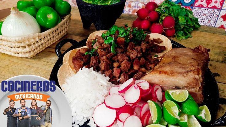 Receta: Tacos de suadero estilo chilango | Cocineros Mexicanos