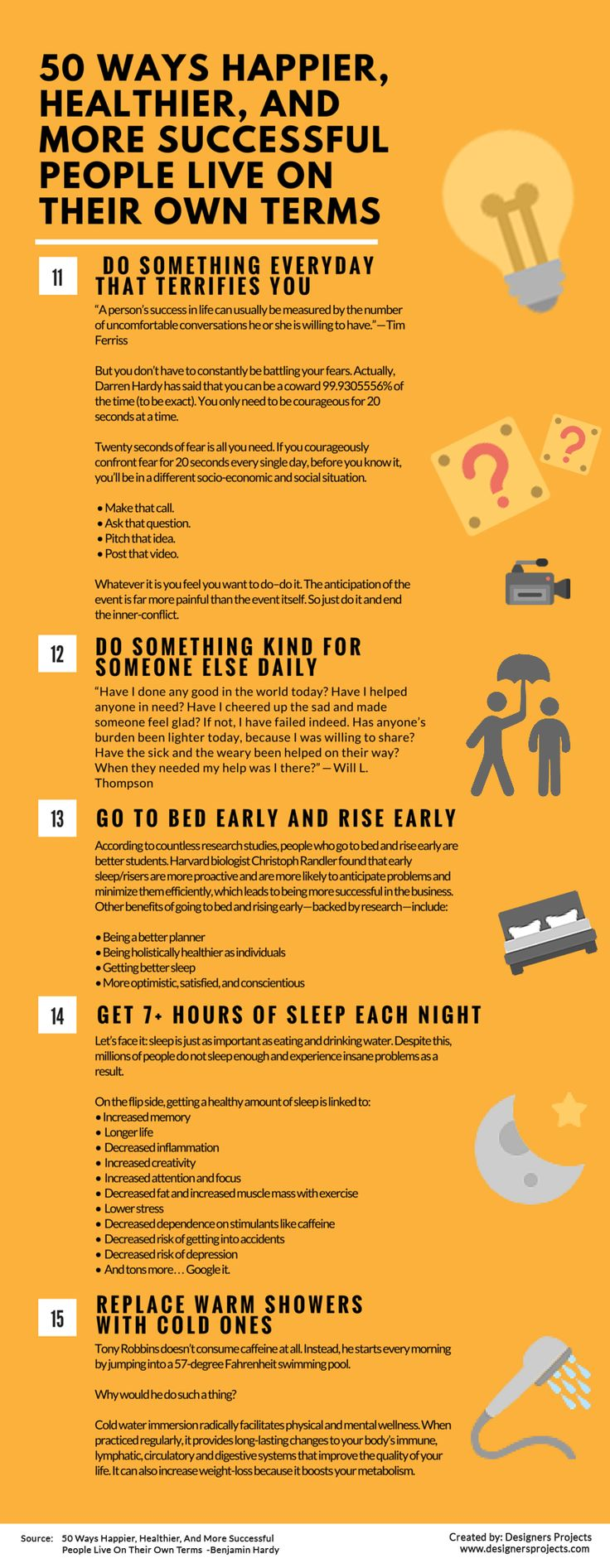 50 Ways Successful People Live On Their Own Terms. - Album on Imgur
