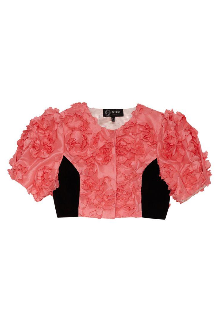 sretsis - geranium blouse - Lady Petrova