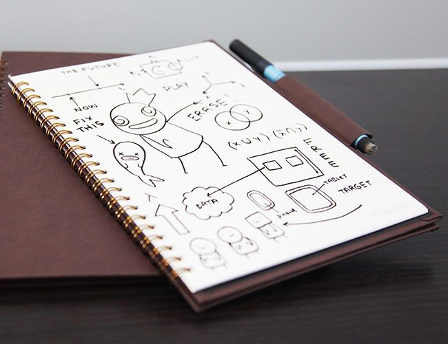 Wipebook Pro Is a Portable Whiteboard Notebook