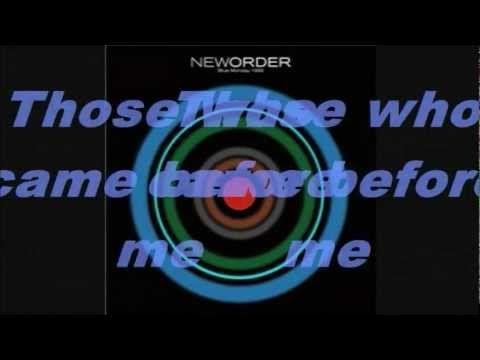 New Order - Blue Monday (88) with lyrics HD - YouTube