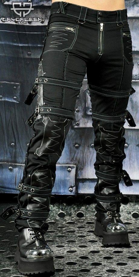 Cryoflesh Апокалипсис Cyber Goth Industrial Тактические Брюки - Брюки и джинсы | RebelsMarket