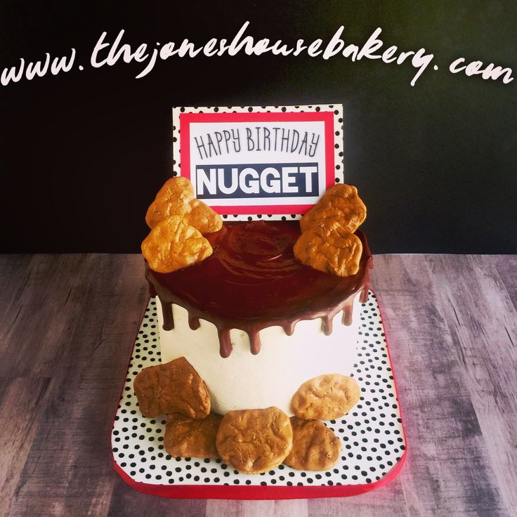 Chicken Nugget Cake I Made This For A Local Dj Here In