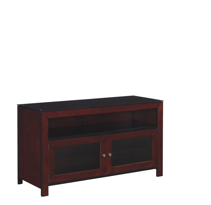 Bell'O 50 inch TV Stand for TVs up to 55 inch, Deep Mahogany