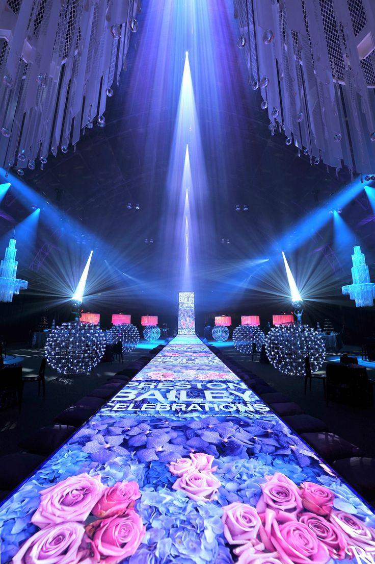 Now that's what I call branding. Fab use of lights!|Levy Lighting - Corporate Events